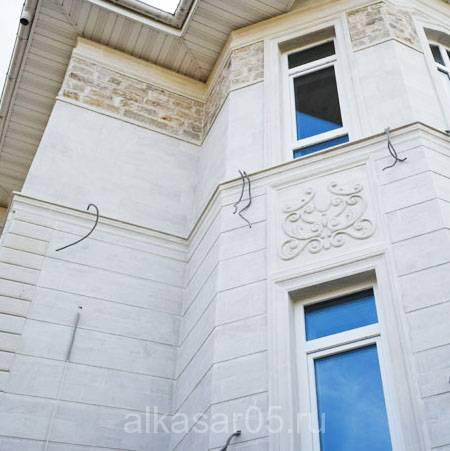 Фасада домов с декоративной штукатуркой фото