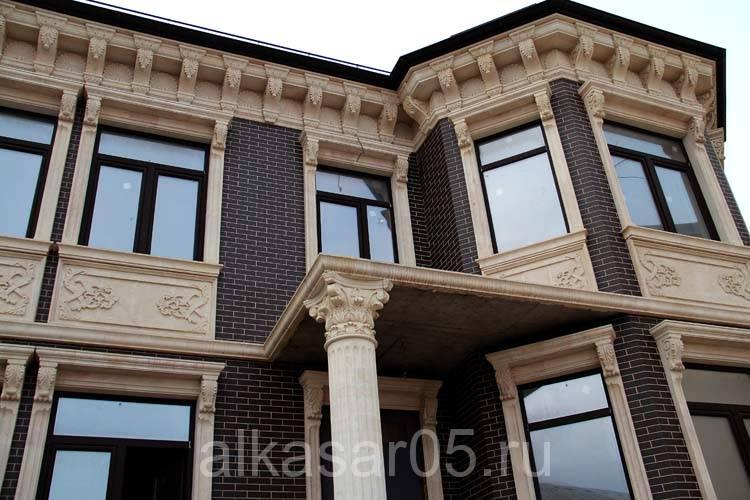 Все виды отделки фасадов частных домов фото